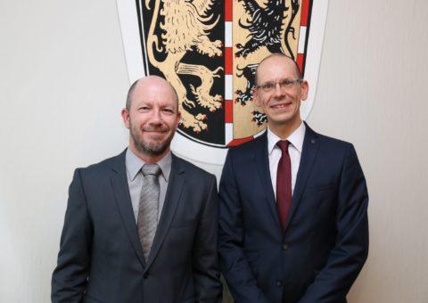 Markus Gold ist noch bis Ende März im Amt. Danach übernimmt Stefan Boese die Geschäftsleitung des ZRF Hochfranken.