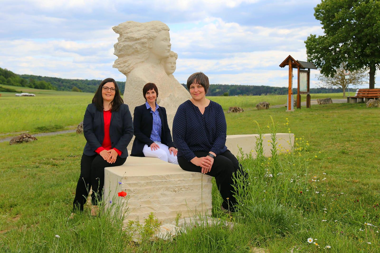 Im Bild von links: Kerstin Hofmann, Ute Hopperdietzel und Patricia Reinhardt
