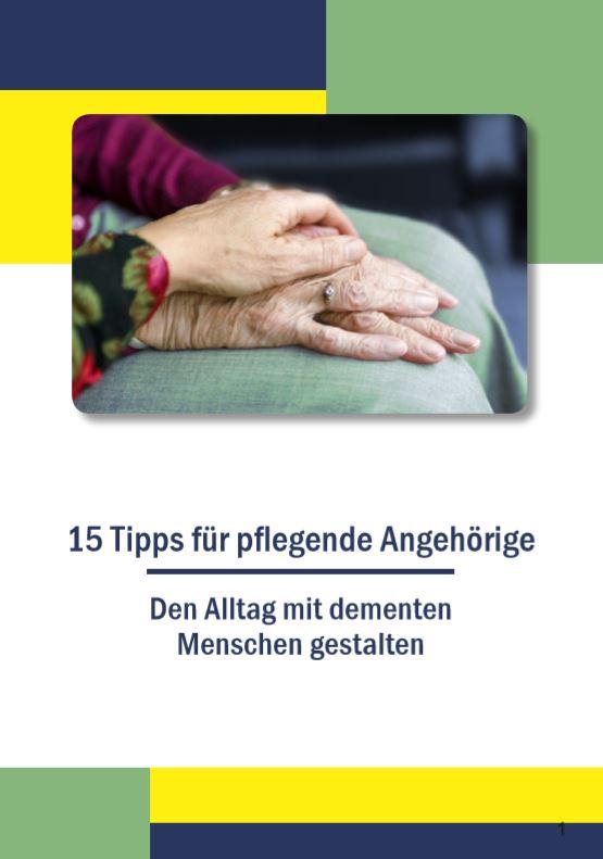 Neue Broschüre mit Tipps für den Alltag mit Demenz